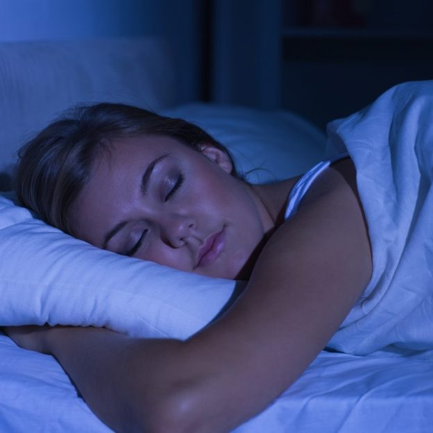 lose weight asleep at night
