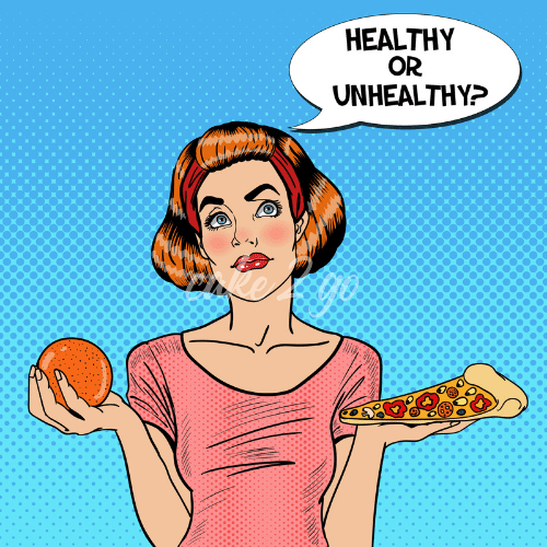 healthy or unhealthy